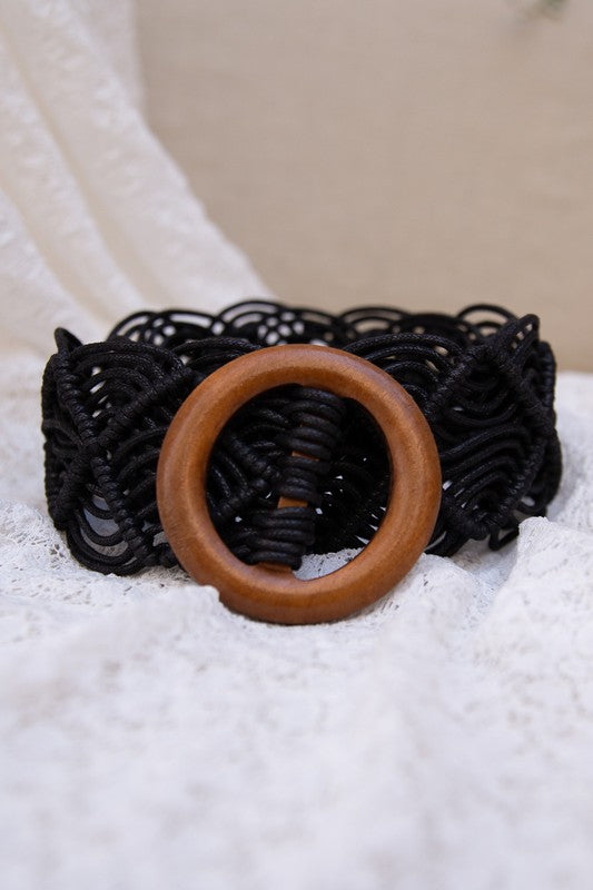 Brandy Leather Belt