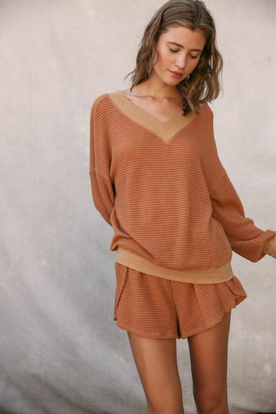 Willow Waffle Top