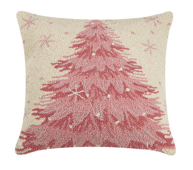 Pink Tree Hook Pillow