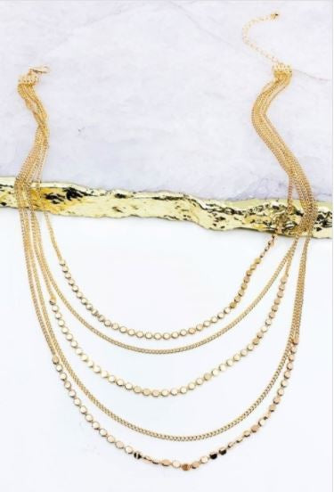 Tunica Layered Necklace