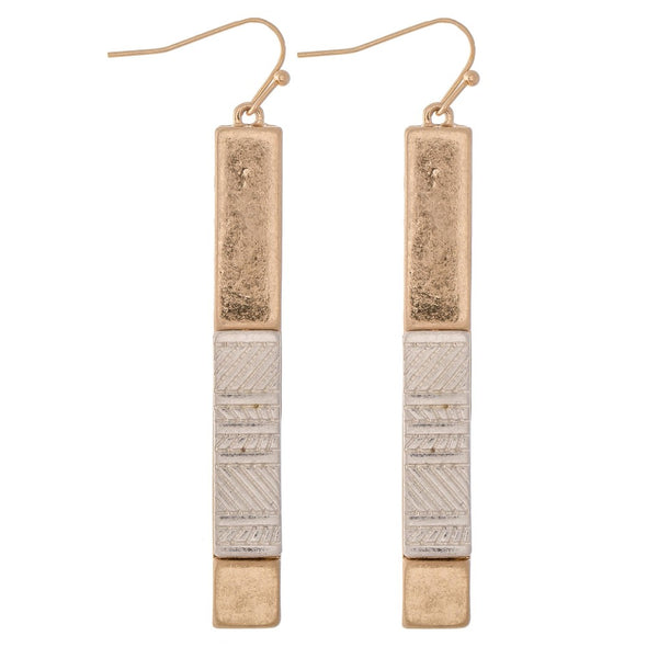 Gallia Etched Earrings
