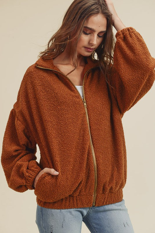 Graham Teddy Bear Jacket