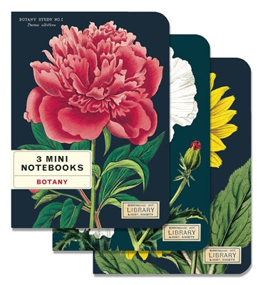 Botany Mini Notebooks