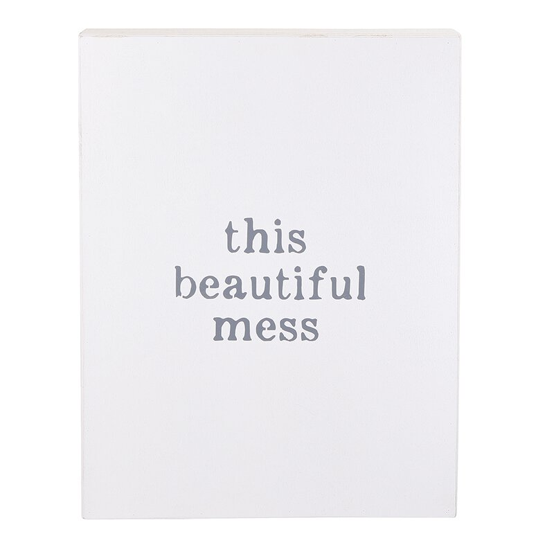 This Beautiful Mess Word Board