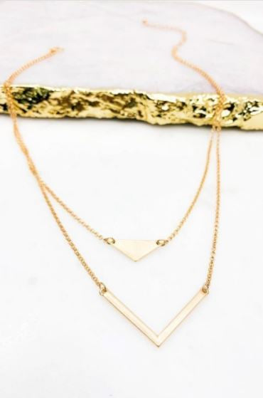 Natchez Layered Necklace