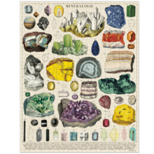 Load image into Gallery viewer, puzzle, vintage mineralogy