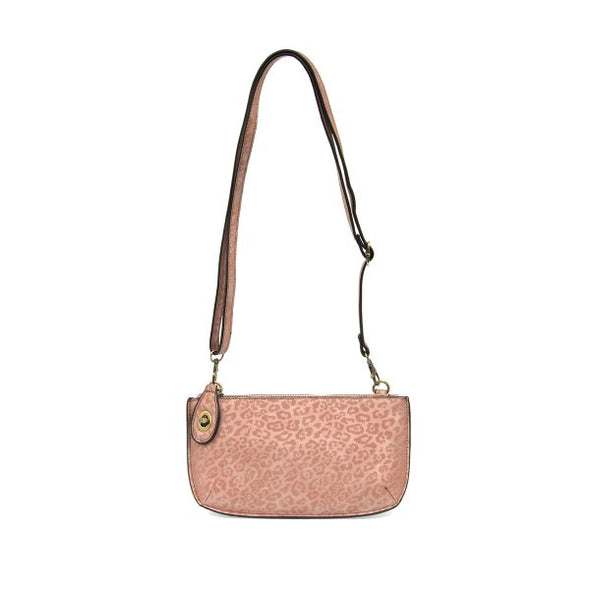 Mini Crossbody - Pink Leopard