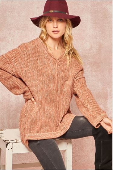 Durango Ribbed Knit Sweater