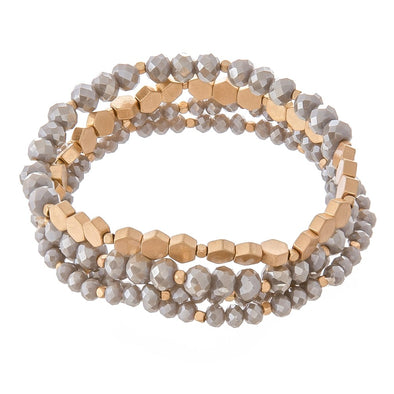 Hera Honeycomb Bracelet Set