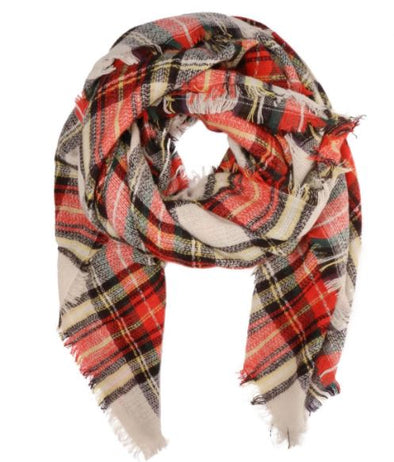 Vermont Plaid Scarf