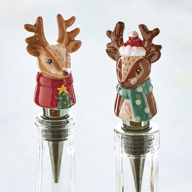 Reindeer Bottle Stopper