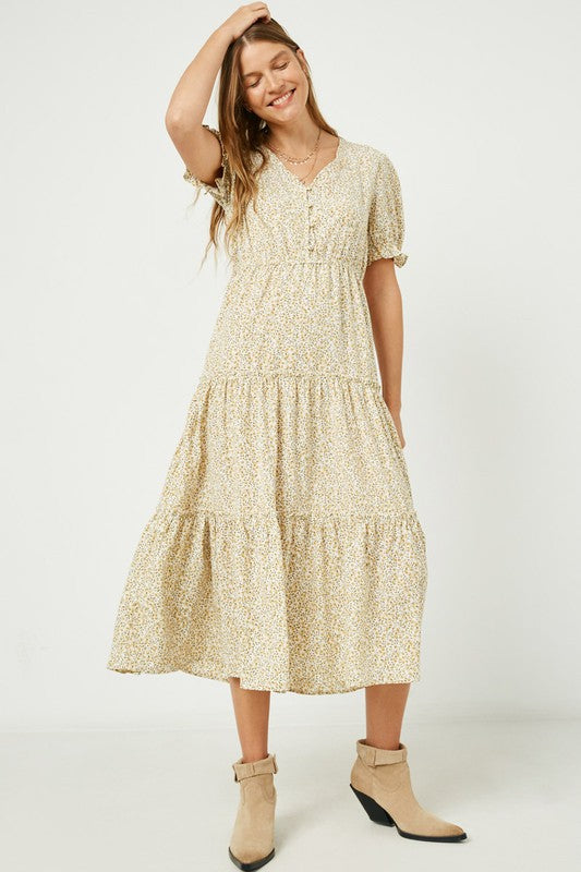 Betsy Floral Maxi Dress