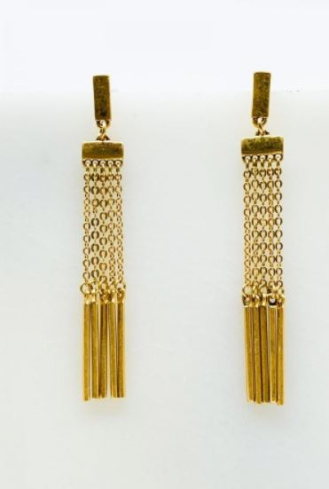 Gatsby Multi Chain Earrings