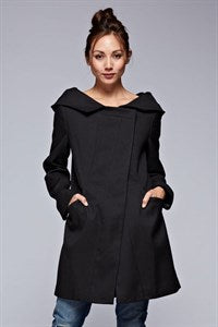 Georgie Hooded Trench Coat