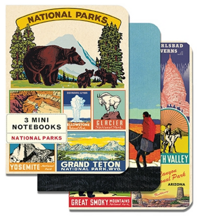 National Parks Mini Notebooks