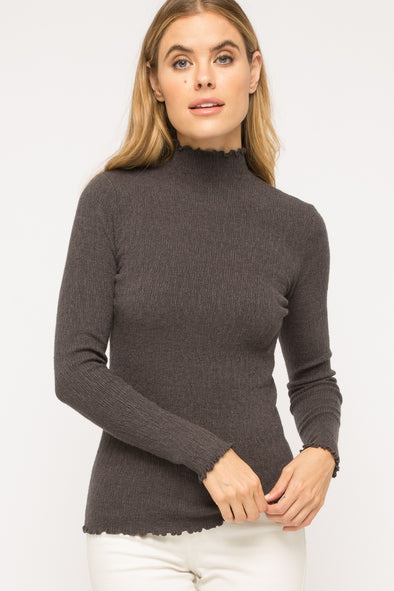 Chantilly Mock Neck Sweater