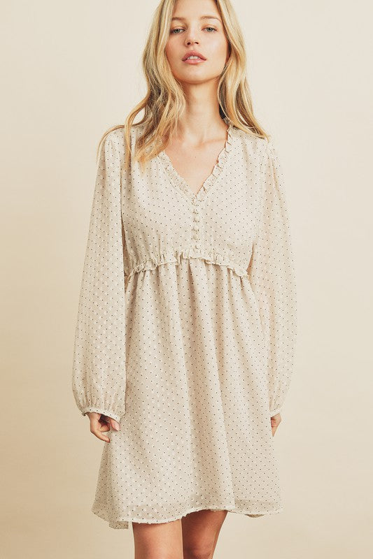 Diana Clip Dot Dress