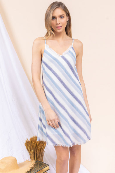 Out of the Blue Striped Dress