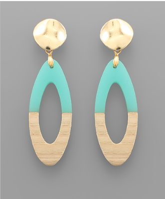 Oakland Oval Earrings