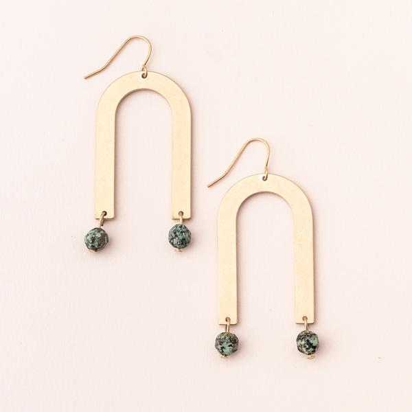 Stone Arches Earring