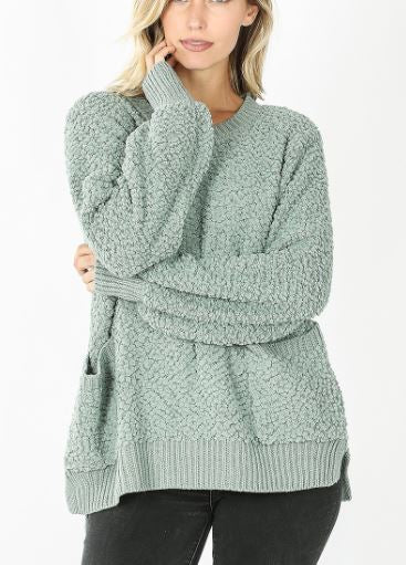 Frisco Popcorn Pocket Sweater