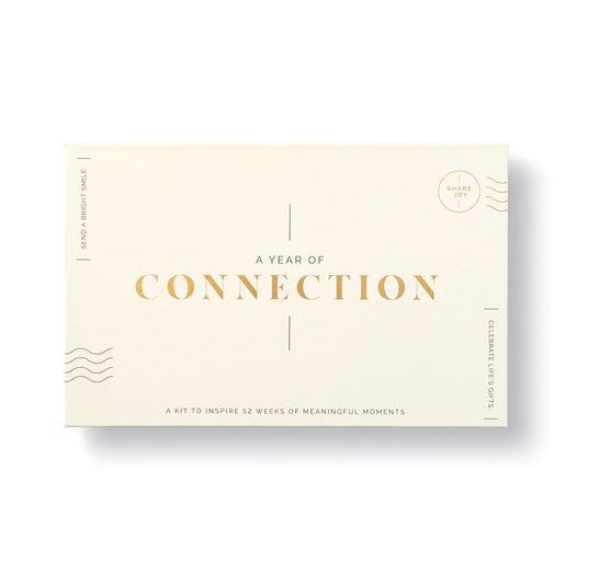 A Year of Connection Notecard Kit