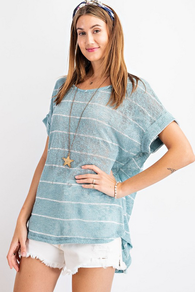 Bondi Striped Top