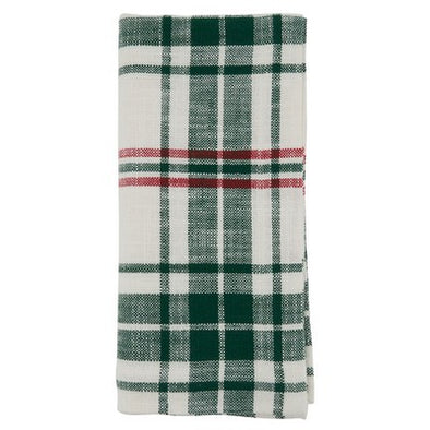 Green Plaid Napkins