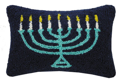 Menorah Hook Pillow