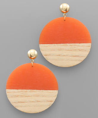 Oakland Circle Earrings