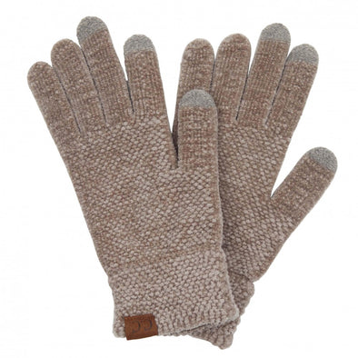 Chenille Knit Smart Touch Gloves