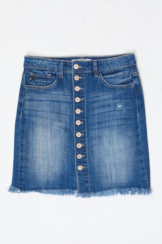 Blue Jay Way Denim Skirt