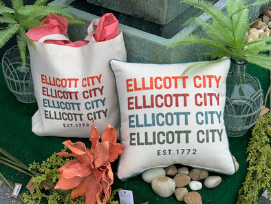 pillow, ellicott city est 1772