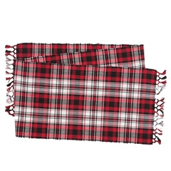 Fireside Plaid Table Runner