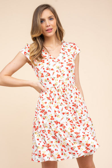 Daphne Floral Dress