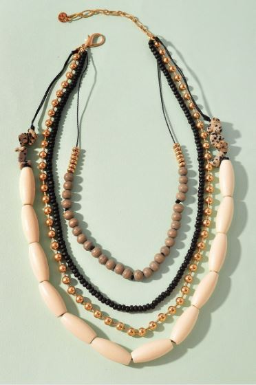 Meg Beaded Necklace
