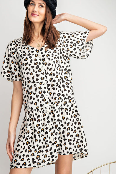 Been Spotted Button Dress