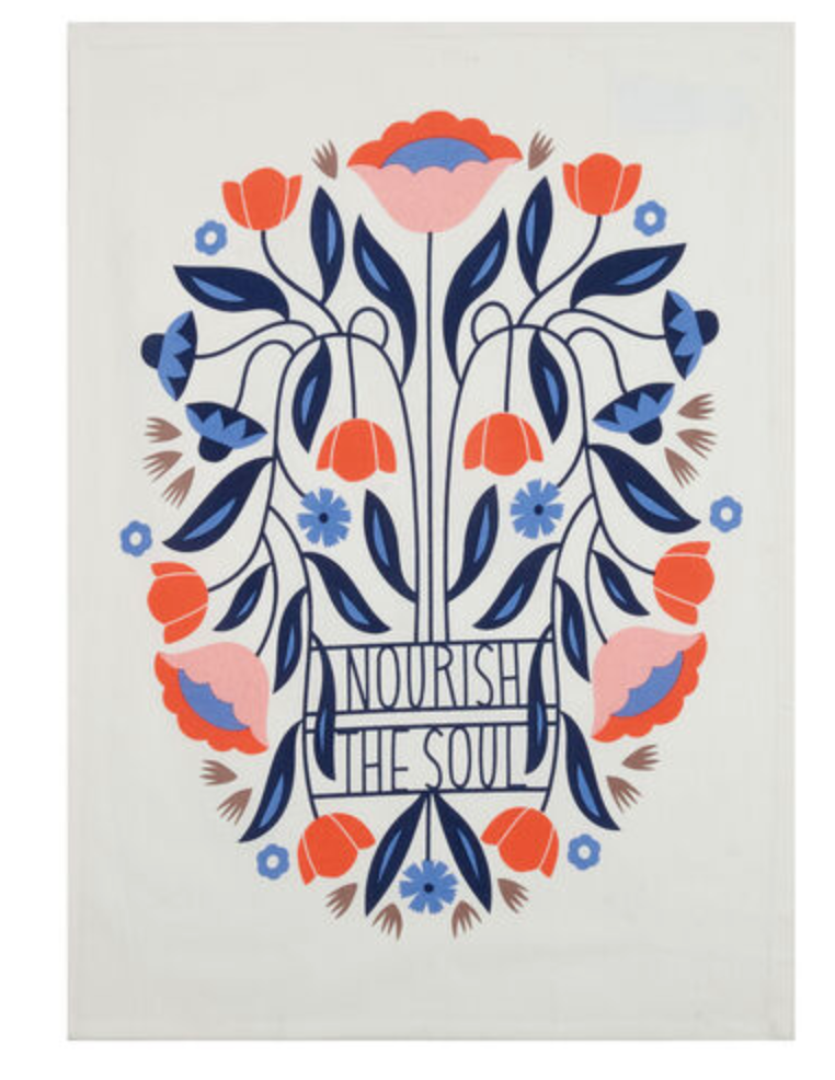 Nourish The Soul Kitchen Towel