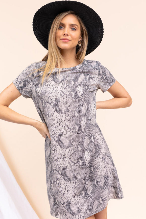 Carlsbad Snake Print Dress