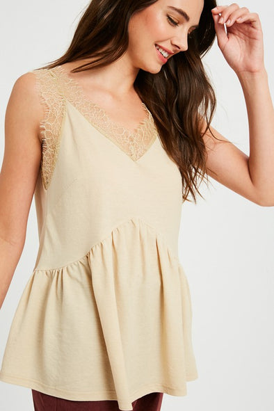 Lilian Lace Camisole Top