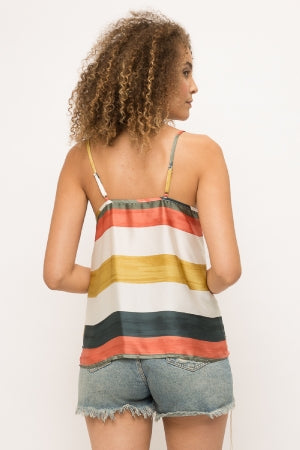 Monica Striped Top