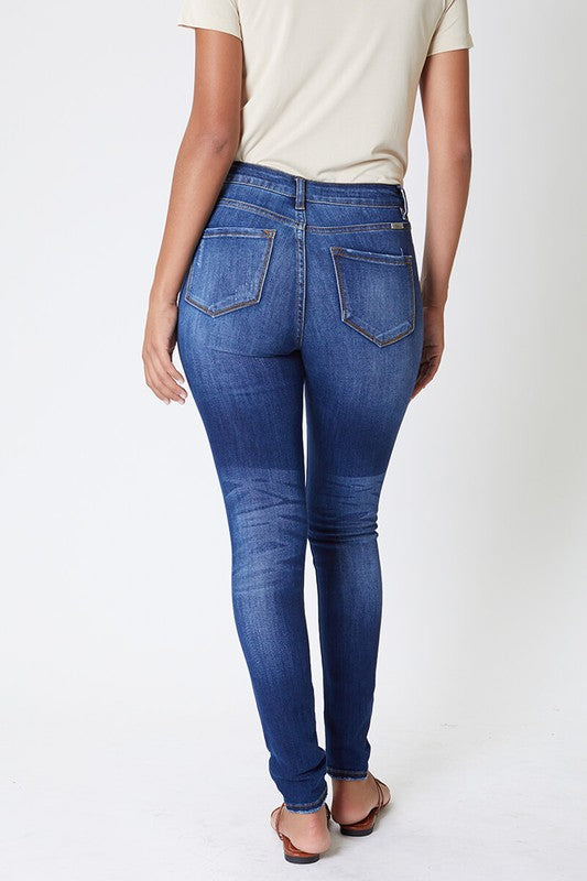 High Rise Curvy Jeans