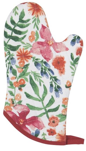 Beautiful Botanica Oven Mitt