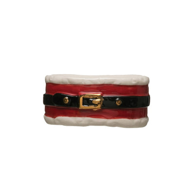 Santa Belt Napkin Ring