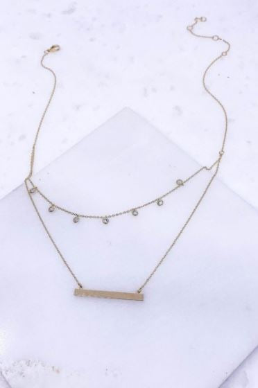 Greenville Layered Necklace