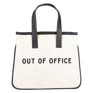 tote, mini canvas Out of Office