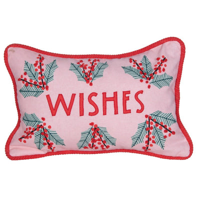 Holiday Wishes Pillow