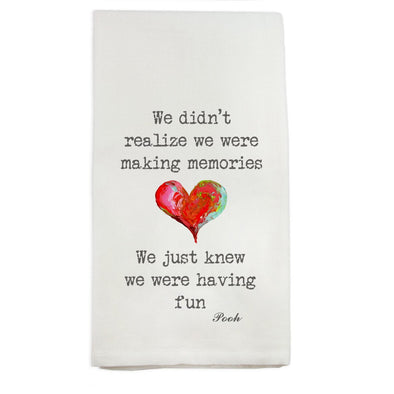 We Just Knew Teatowel
