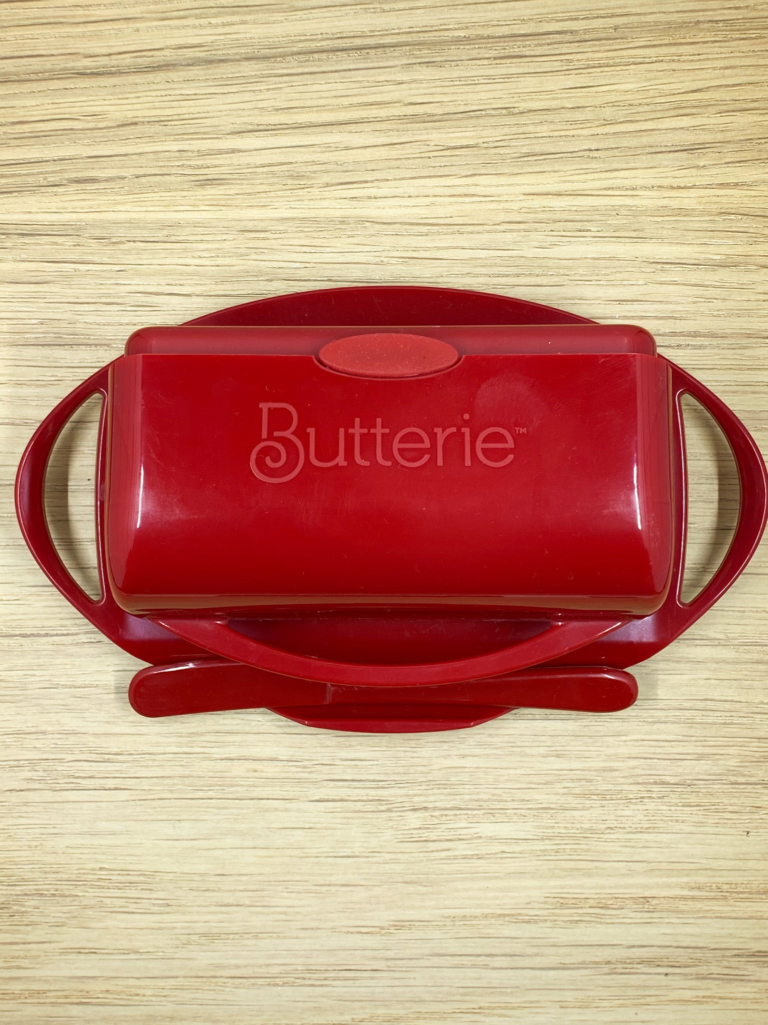 Butter Dish with Speader