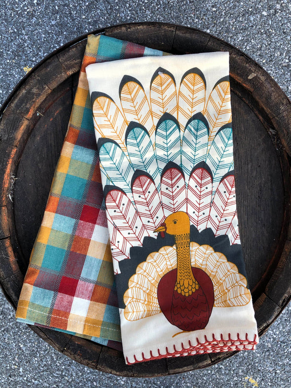 Tommy Turkey Tea Towel